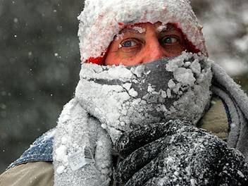 На выходные в Днепропетровске ожидаются лютые морозы